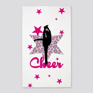 Pink Cheerleader 3'x5' Area Rug