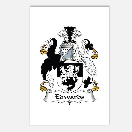 Edwards I Postcards (Package of 8)