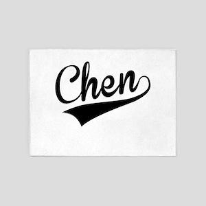 Chen, Retro, 5'x7'Area Rug