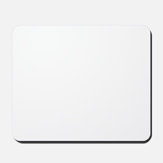 White Solid Color Mousepad