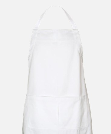 White Solid Color Apron