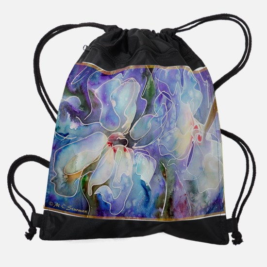 Magnolias! Floral art! Drawstring Bag