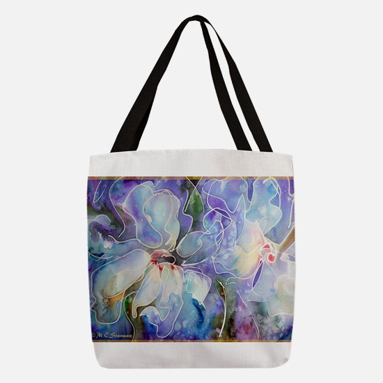 Magnolias! Floral art! Polyester Tote Bag