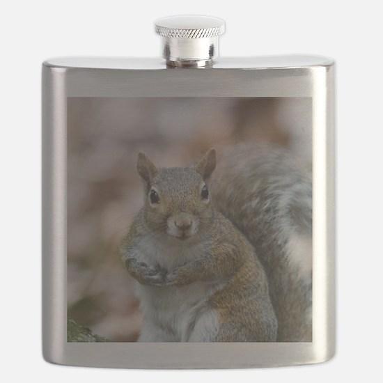 Cute Squirrel Flask