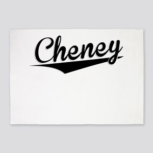 Cheney, Retro, 5'x7'Area Rug