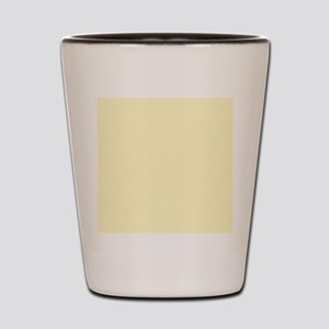 Pastel Yellow Solid Color Shot Glass