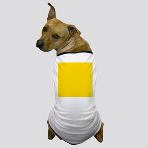 Mustard Yellow Solid Color Dog T-Shirt