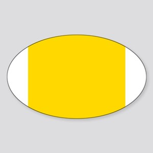 Mustard Yellow Solid Color Sticker