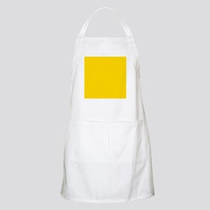 Mustard Yellow Solid Color Apron