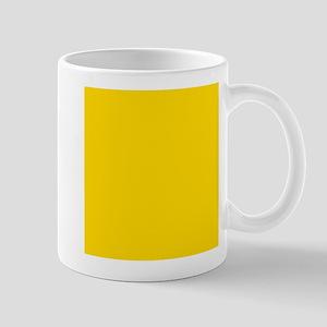 Mustard Yellow Solid Color Mugs