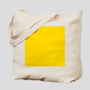 Mustard Yellow Solid Color Tote Bag