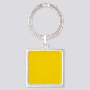 Mustard Yellow Solid Color Keychains