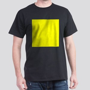 Lemon Yellow Solid Color T-Shirt