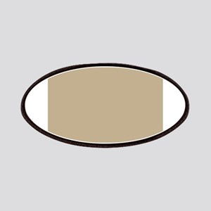 Khaki beige solid colod Patches