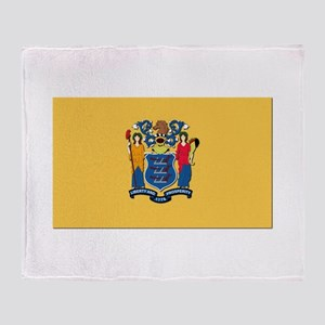 Flag of New Jersey Throw Blanket