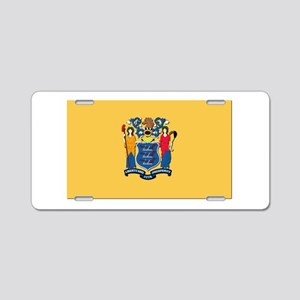 Flag of New Jersey Aluminum License Plate