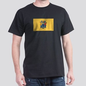Flag of New Jersey Dark T-Shirt