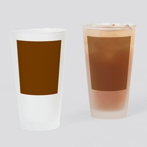 Brown Solid Color Drinking Glass