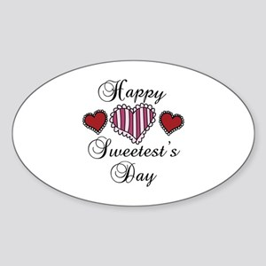 Happy sweetests day Sticker