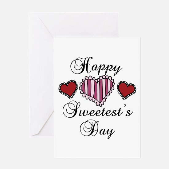 Happy sweetests day Greeting Cards