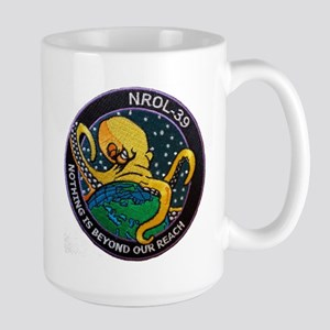 NROL-39 Program Logo Large Mug