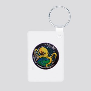 NROL-39 Program Logo Aluminum Photo Keychain