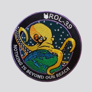 NROL-39 Program Logo Ornament (Round)