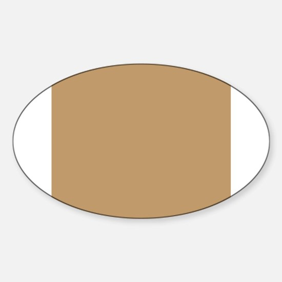Tan Brown Solid Color Decal