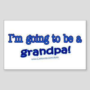 Grandpa 2 Be Rectangle Sticker