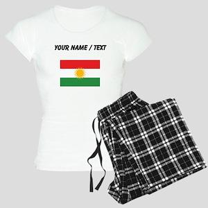 Custom Kurdistan Flag Pajamas