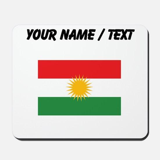 Custom Kurdistan Flag Mousepad