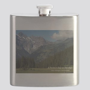 perfect day in the alps Flask