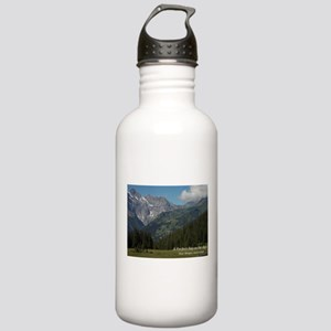 perfect day in the alps Water Bottle