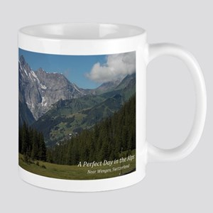 perfect day in the alps Mugs