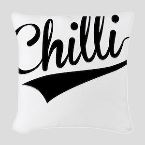 Chilli, Retro, Woven Throw Pillow