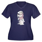 A Well-Dressed Badger Women's Plus Size T-Shirt