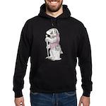 A Well-dressed Badger Hoodie (dark)