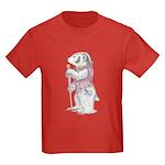 A Well-dressed Badger Kids Dark T-Shirt