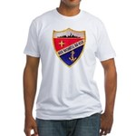 USS DASHIELL Fitted T-Shirt