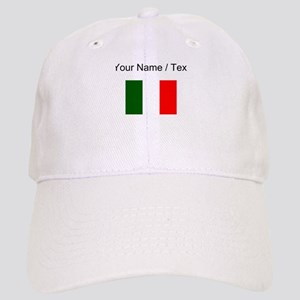 Custom Italy Flag Baseball Cap