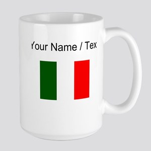 Custom Italy Flag Mugs