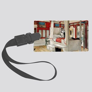 Larsson - Daddy's Room Large Luggage Tag