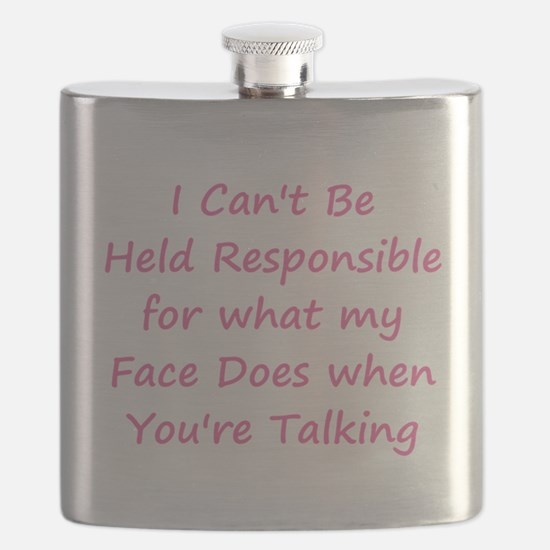 Not Responsible Flask