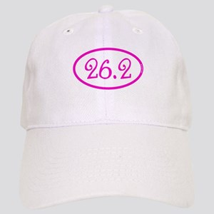26.2 Marathon Pink Girly Cap