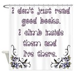 Reading.... Shower Curtain