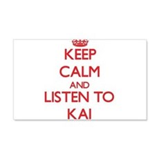 Keep Calm and Listen to Kai Wall Decal