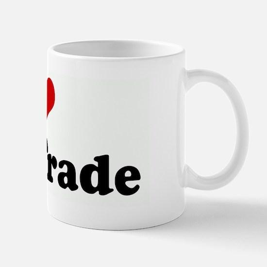 I Love Free Trade Mug