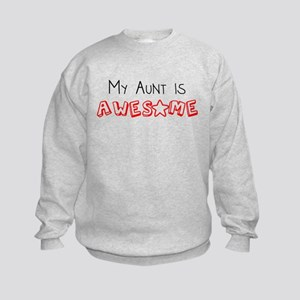 My Aunt Is Awesome Sweatshirt