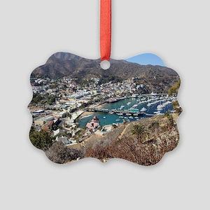 Catalina Island Avalon Picture Ornament