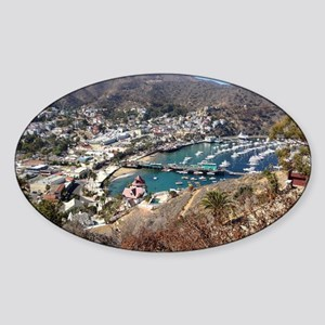 Catalina Island Avalon Sticker (Oval)